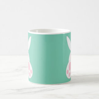 後ろバニー コーヒーマグカップ