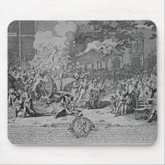 後世1720年に専用されている記念碑 マウスパッド