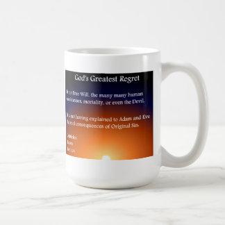 後悔 コーヒーマグカップ