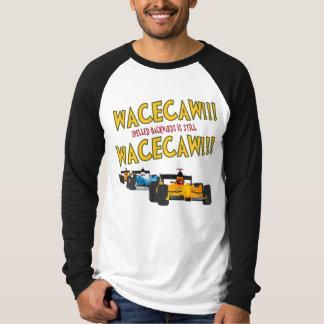 後方に綴られるWacecaw (レースカー) Tシャツ