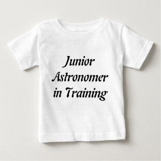 後輩の天文学者のTシャツ子供へ科学のティー ベビーTシャツ