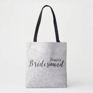 後輩の新婦付添人のギフトの花嫁のキャンバスのトートバック トートバッグ