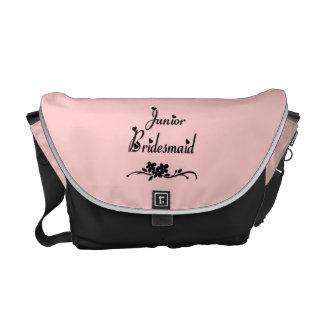 後輩の新婦付添人のバッグ メッセンジャーバッグ