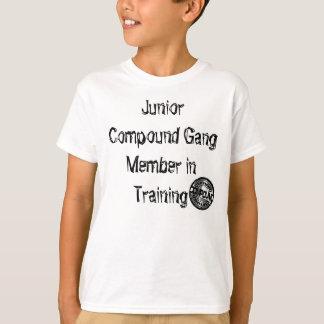 後輩の混合のシール Tシャツ
