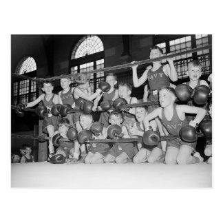 後輩のBoxing 1939年 ポストカード