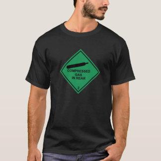 後部の圧縮されたガス Tシャツ