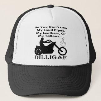従って私のバイクもしくは自転車に乗る人DILLIGAFであることを好みません キャップ