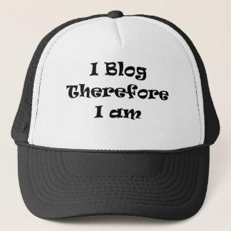 従って私は私ありますBlog キャップ