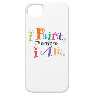 従って私は私をあります絵を描きます iPhone SE/5/5s ケース