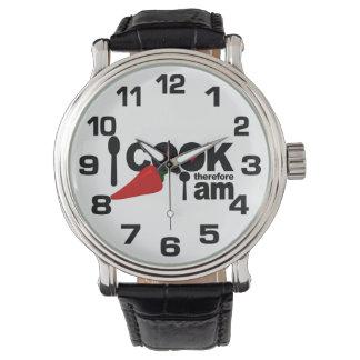 従って私は私をです腕時計調理します 腕時計