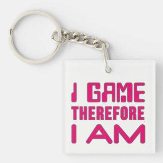 従ってIゲーム私はゲーマーの女の子です キーホルダー