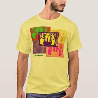 従わないで下さい。  合わせないで下さい。  不合理があって下さい Tシャツ