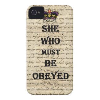 従われなければならない彼女 Case-Mate iPhone 4 ケース