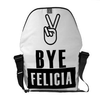従属的なフェリシアのユーモア メッセンジャーバッグ
