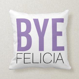 従属的なフェリシアの紫色 クッション