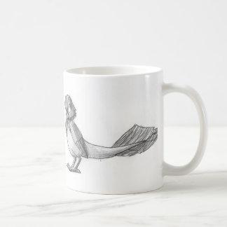 従来引き分けのReptilianの鳥のマグ コーヒーマグカップ