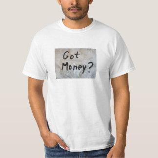 得られたお金か。 Tシャツ