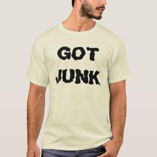 得られたがらくた Tシャツ