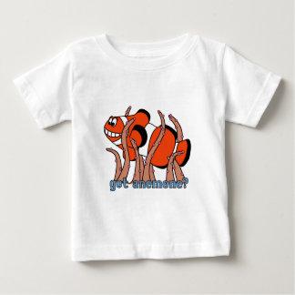 得られたアネモネのClownfishのベビーのTシャツ ベビーTシャツ