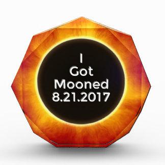 得られたアメリカの日食によっては威厳があるな21 2017.jがうろつきました 表彰盾
