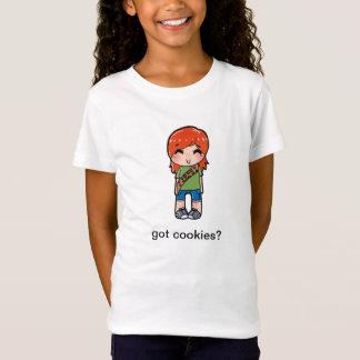 得られたクッキーか。 Tシャツ
