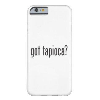 得られたタピオカ BARELY THERE iPhone 6 ケース