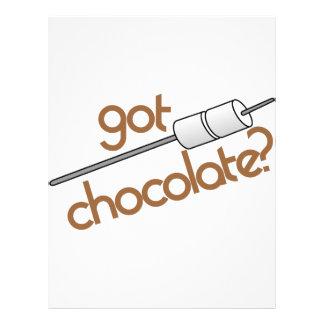 得られたチョコレートか。 レターヘッド