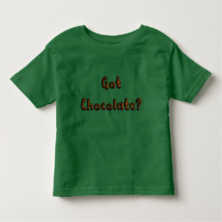 得られたチョコレート-おもしろいなグルメのTシャツ トドラーTシャツ