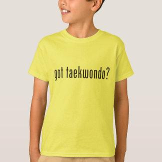 得られたテコンドーか。 Tシャツ