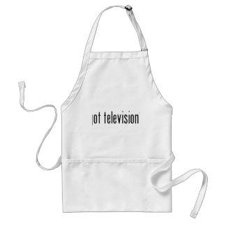 得られたテレビか。 スタンダードエプロン