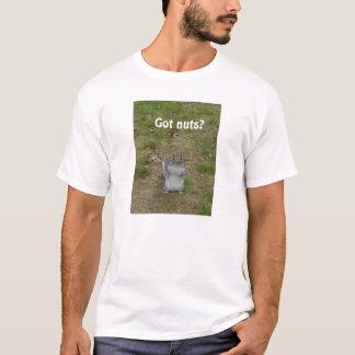 得られたナットか。 Tシャツ