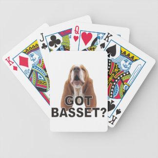 得られたバセット犬か。 トランプ バイスクルトランプ