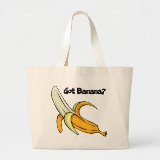 得られたバナナ ラージトートバッグ