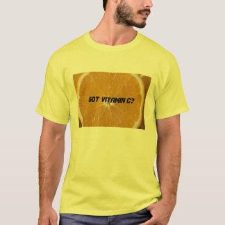 得られたビタミンCか。 Tシャツ