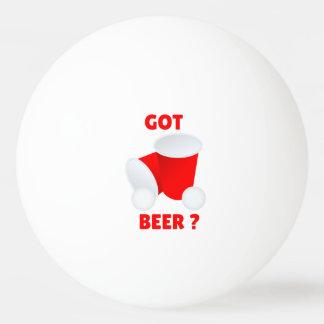 得られたビールか。 ビールPongのピンポン球 ピンポンボール