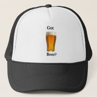 得られたビールか。 キャップ