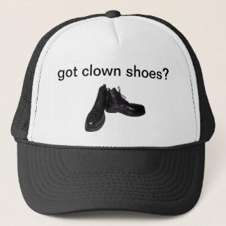 得られたピエロの靴か。 帽子