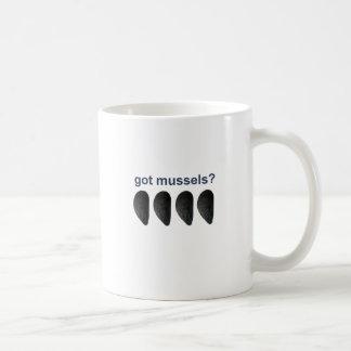 得られたムラサキ貝か。 コーヒーマグカップ