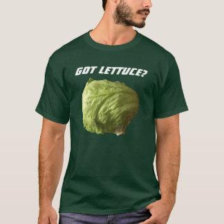 得られたレタスか。 Tシャツ