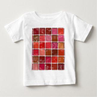 得られた化粧か。 -口紅箱 ベビーTシャツ
