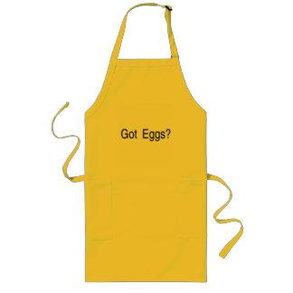 得られた卵 ロングエプロン