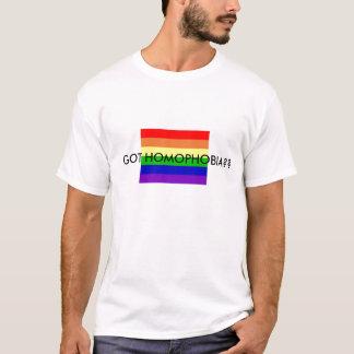 得られた同性愛恐怖症か。か。 Tシャツ