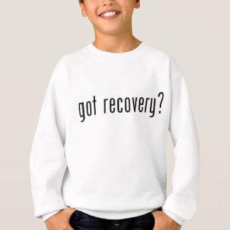 得られた回復か。 スウェットシャツ