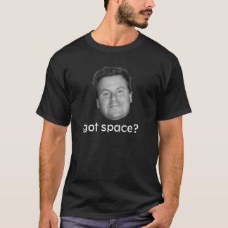 得られた宇宙か。 Tシャツ