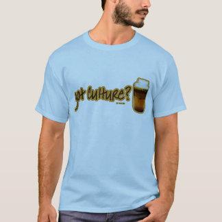 得られた文化か。 Kombucha Tシャツ
