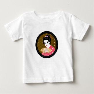 得られた着物の女の子か。 ベビーTシャツ
