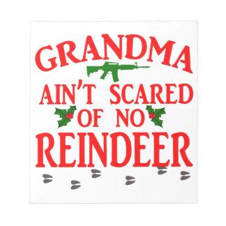 得られた祖母は走りました ノートパッド
