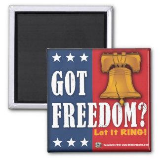 得られた自由か。 磁石