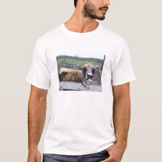 得られた舌か。 Tシャツ