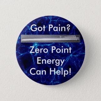 得られた苦痛か。 ゼロポイントエネルギーは救済できます! 5.7CM 丸型バッジ
